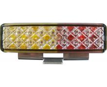 MODULE LED ORANGE D'ANGLE 12/24V POUR RAMPE XPERT
