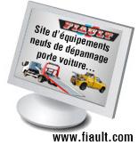 Equipements de dépannage et de transport automobile
